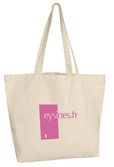 naturel - sac en Coton canvas 310g publicitaire
