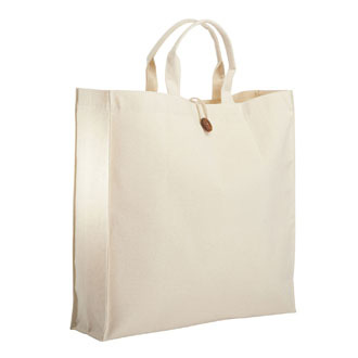 Sac shopping pliable en coton naturel - sac personnalise