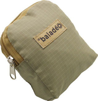 beige fonce - sac shopping publicitaire
