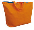 orange - sac Coton canvas 310g personnalisable