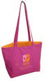 violet - sac Coton canvas 310g personnalisable