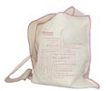 sac en Coton canvas 310g imprimeur naturel - Vue n° 1